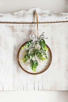 Spring Wreath: Made From Embroidery Hoops & Book Pages Are you looking for an easy way to create a spring wreath? Click over to see how easy it is to make with embroidery hoops and old book pages! Diy Spring Wreath, Diy Wreath, Spring Crafts, Wreath Ideas, Embroidery Hoop Decor, Embroidery Ideas, Diy Wood Wall, Craft Night, How To Make Wreaths