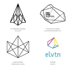 2014 Logo Trends :: Geo Wires