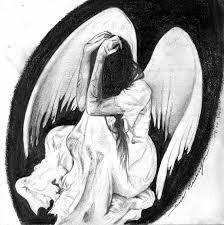 Výsledek obrázku pro drawing angel