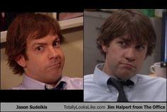 Jason Sudeikis Totally Looks Like Jim Halpert from The Office