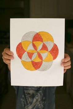 Kids' Art Lesson: Geometric Design with Islamic Art by @Deborah Harju