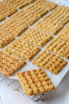 Havrekex - Lindas Bakskola & Matskola Waffles, Sweets, Snacks, Breakfast, Blogg, Hem, Morning Coffee, Appetizers, Gummi Candy