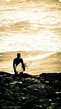 Tofino surfer surf check