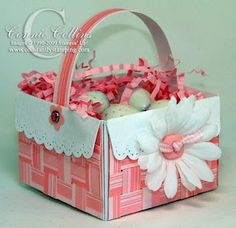 Easter basket to make