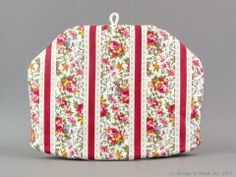 Tea Cozy - Summertime Chintz|Standard . $27.95. Deep rose striped coordinate for popular chintz style teaware.