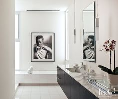 Modern Simple Master Bathroom | LuxeSource | Luxe Magazine - The Luxury Home Redefined