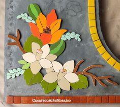 Mosaic Flowers, Mosaic Art, Kids Rugs, Mosaic Projects, Mosaic Artwork, Top Coat, Mirror Mosaic, Mosaic Ideas, Mosaic Crafts
