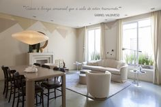 OPEN HOUSE | GABRIEL VALDIVIESO  #home #decor #casa #decoracao #bege #anos80 #anos90 #saladeestar #livingroom  #dinningroom #saladejantar