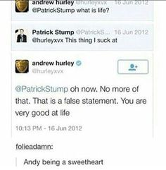 Andy Hurley & Patrick Stump - Fall Out Boy
