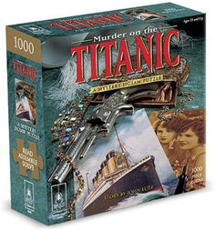 If you like a good mystery and puzzles.... well, this is perfect!!! Read the mystery, assemble the puzzle and then SOLVE the murder!!!! More options available! Escape Room Puzzles, Puzzle Shop, Fun Activities To Do, Mystery Parties, Word Families, Puzzle Pieces, Betrayal, Titanic, Jigsaw Puzzles