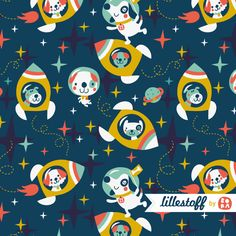 ***BORA ILLUSTRATIES***: Rocket dogs for Lillestoff