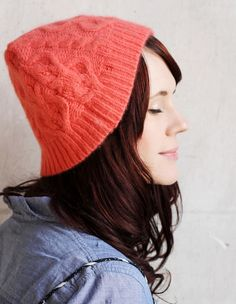 Turn a Sweater into a Cute Hat