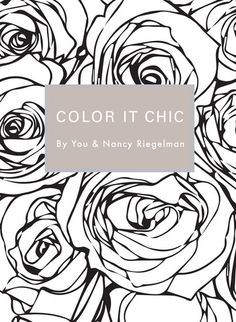 Color It Chic / Coloring Book - Fashion Finishing School Shop