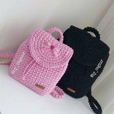 Crochet Wallet, Crochet Backpack, Crotchet Bags, Knitted Bags, Crochet Handbags, Crochet Purses, Crochet Bikini Pattern, Crochet Patterns, Crochet Shoes