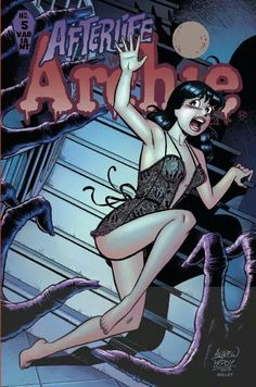 Afterlife With Archie *Modern Age / Archie Comics / Variant Edition* Free Comic Books, Comic Book Covers, Comic Books Art, Comic Art, Afterlife With Archie, Night Of The Demons, Zombie Attack, Halloween Artwork, Betty And Veronica
