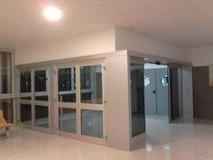 Puerta de acceso a la Biblioteca Hypatia de Alejandría. 20/01/2016