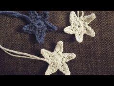 ▶How To - Crochet a Simple Star - YouTube ♫° Teresa Restegui http://www.pinterest.com/teretegui/°♫