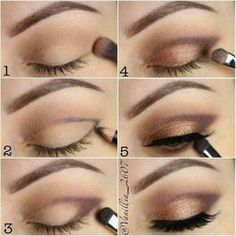 How to achieve and easy neutral bronze smokey eye for that perfect makeup look c. - How to achieve and easy neutral bronze smokey eye for that perfect makeup look click the link for m - Eye Makeup Steps, Simple Eye Makeup, Smokey Eye Makeup, Eyeshadow Makeup, Makeup Tips, Makeup Ideas, Makeup Brushes, Natural Makeup, Eyeshadow Pencil