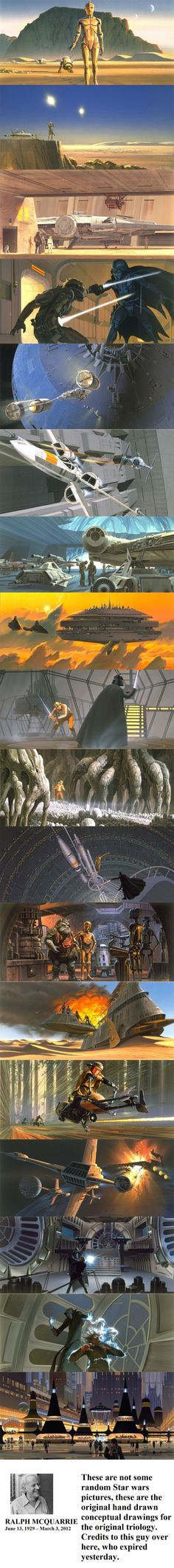 McQuarrie Star Wars Concepts