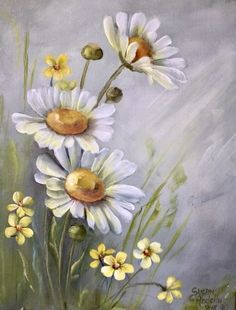 ONLINE CLASS – Daisies and Yellow Flowers with Susan Abdella ONLINE CLASS – Daisies and Yellow Flowers with Susan Abdella,dies und das DecoArt Premium Acrylics – Beginner Paintings – Online Classes Related posts:Babykekse Rezept. Daisy Painting, Acrylic Painting Flowers, Acrylic Art, Watercolor Flowers, Painting & Drawing, Watercolor Paintings, Paintings Of Flowers, Simple Flower Painting, Oil Paintings
