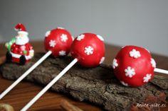 Cake-Pops X-Mas Style mit Zimtfrosting