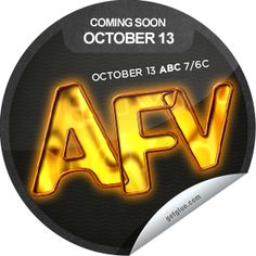 Steffie Doll's AFV Season 24 Coming Soon Sticker   GetGlue America's Funniest Home Videos, Make New Friends, Coming Soon, Meeting New People, Movie Tv, Seasons, Stickers, Seasons Of The Year, Decals