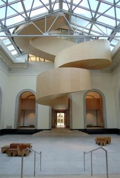 Art Gallery of Ontario (AGO), Toronto, 2008 - Gehry Partners LLP #staircases