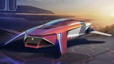 David Cava Design: SEAT MLX 2100-Maglev personal vehicle