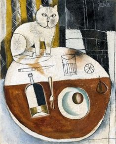 Gentilini, Franco (1909-1981) - 1954, Round Table with Cat (Christie's Milan, 2008)