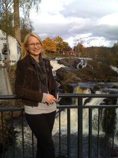 October 2011 at Bærums verk. Love wearing a leather jacket!