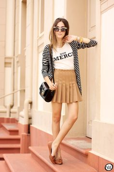 FashionCoolture - 28.02.2015 look du  jour Forever21 pleated skirt ZeroUV (3)