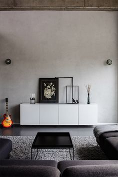 Interior Design Portfolio | Minimal Interior Design | London | Yam Studios #living rooms #concrete #architecture