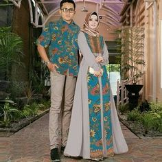 New Dress Hijab Brokat Party Ideas Kebaya Hijab, Batik Kebaya, Kebaya Dress, Kebaya Muslim, Muslim Fashion, Hijab Fashion, Fashion Dresses, Blouse Batik, Batik Dress
