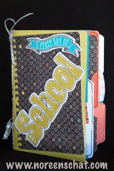 Noreen's Scrap N Chat: CTMH Chalk It Up Artbooking Mini-Album www.noreenschat.com