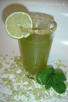 Čaj z čerstvej mäty Beverages, Drinks, Syrup, Lime, Chocolate, Fruit, Health, Recipes, Food