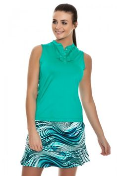 Tail Island Breeze Golf Skort - GF4378-4508