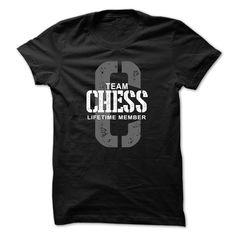 Chess Team Lifetime Member T Shirt