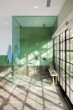 I would LOVE for this to be my bathing haven! It just screams clarity, renewal, relaxation, and creativity......I WILL have a bathroom that embodies such. With a speakers too. Music in the bathroom encourages much needed let-loose sessions.