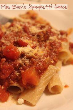 A great spaghetti sauce recipe!