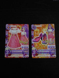 "Trading card of Japanese Idol Animation ""AIKATSU"" Moon french coord"
