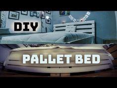 DIY Pallet Bed / Zrób to Sam – Łóżko z palet – wkaleniecki
