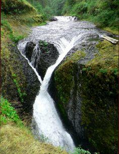 Twister Falls - Hiking in Portland, Oregon and Washington