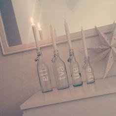 #adventsljusstake #DIY #jul