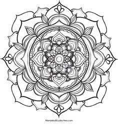 Printable Coloring Pages Of 33 Lotus Flower Mandala 5559