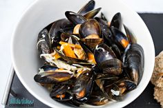 Fresh Mussels - Inverness Food Photography