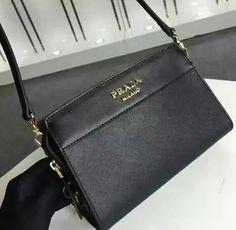 f2e3a85a839d10 Cheap Prada bags 2016 Prada Esplanade Saffiano and calf leather bag ...