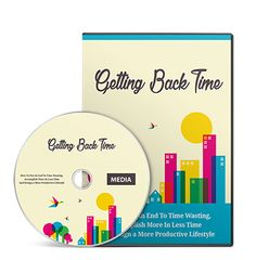 Getting Back Time Videos Series with Master Resell Rights - http://www.buyqualityplr.com/plr-store/getting-back-time-videos-series-master-resell-rights/.  Getting Back Time Videos Series with Master Resell Rights #Fitness #FitnessSocialQuotes #FitnessQuotes #SocialQuotes How to Put an End to Time Wasting, Accomplish More in Less Time and Design a More Productive Lifestyle! Includes 10 part audio and 11 part video series! In This Course,....