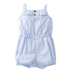 Carter's® Striped Romper - Girls newborn-24m found at @JCPenney