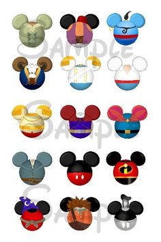 "Various Prince/Boy character DIGITAL Bottle Cap image sheet 4x6 1"" inch"