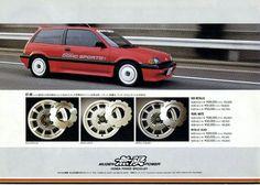 Auras, Chevrolet Impala 1963, Jdm Wheels, Honda Civic Hatchback, Honda Motors, Car Brochure, Japan Cars, Nsx, Jdm Cars